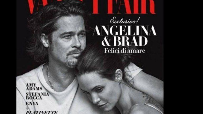 La última portada juntos. Brad Pitt y Angelina Jolie protagonizaron su última portada juntos en noviembre de 2015.