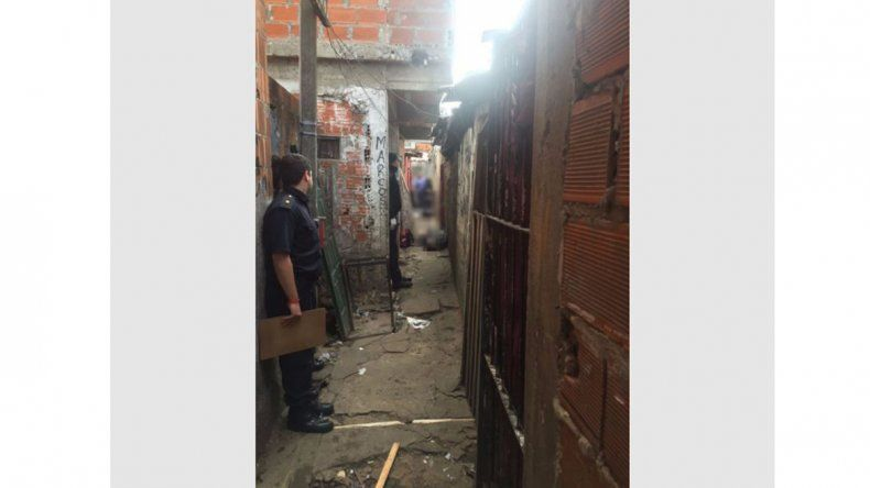La tragedia ocurrió en la villa Uruguay
