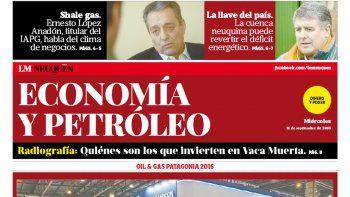 La industria petrolera se muestra en Neuquén