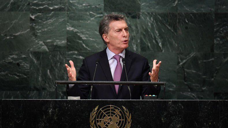 El primer mandatario dio su primer discurso en las Naciones Unidas.