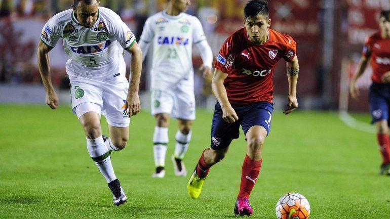 Independiente generó muy poco en el partido de ida y ahora tendrá que buscar la clasificación lejos de casa.