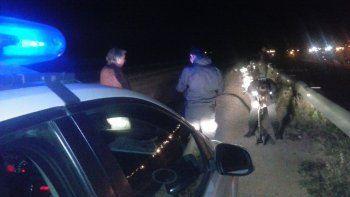 ruta chica: murio tras caer con su auto a un canal