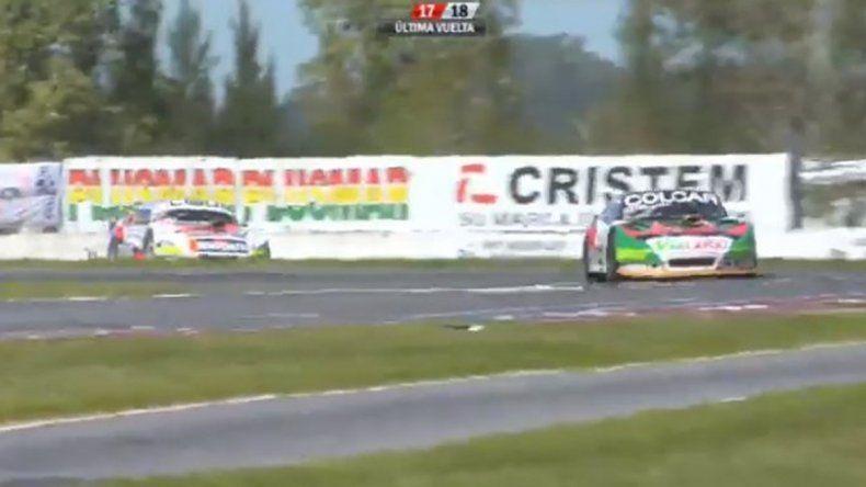 Benvenuti perdió la punta en la última vuelta en La Plata