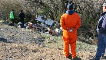 un hombre murio en un vuelco sobre la ruta nacional 40