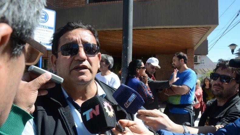 Edgardo Oñate fue detenido y luego liberado. Fue imputado por el robo de un bastón policial.
