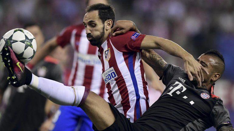 El Atlético de Madrid del Cholo le ganó al Bayern Múnich