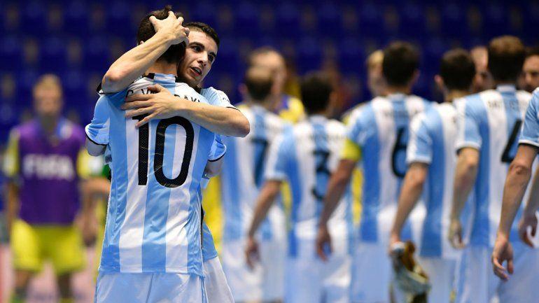 Mundial de Fútsal: Argentina va por su primer título ante Rusia