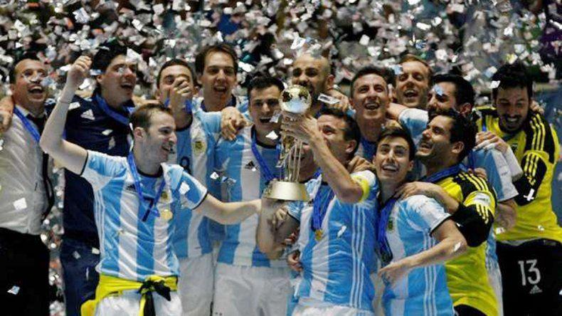 Argentina venció a Rusia y es campeón mundial de Futsal