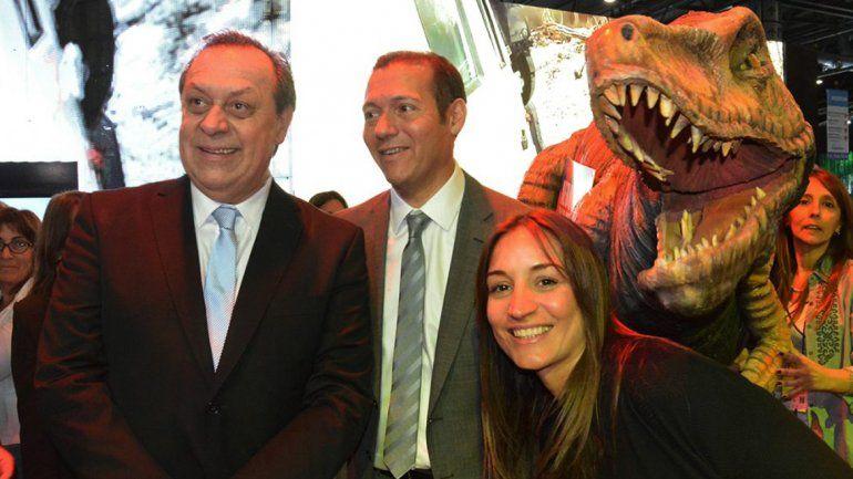 Gutiérrez junto al ministro de Turismo de la Nación