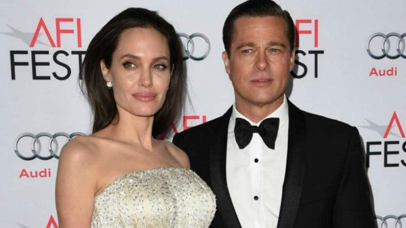 Jolie y Pitt arreglaron que él visitará a los niños supervisado por un terapeuta.