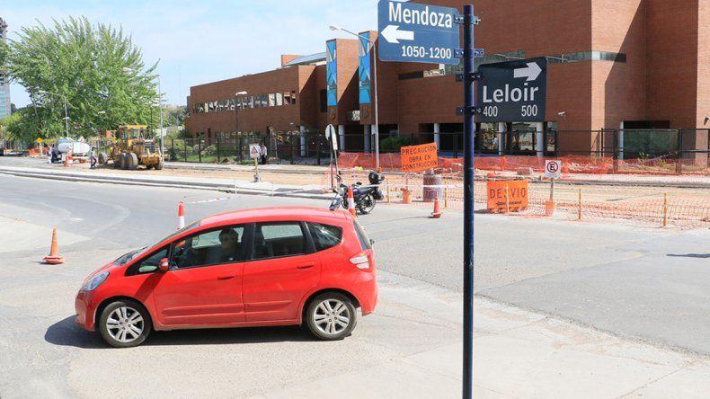 Sólo resta repavimentar la calle Leloir para su inauguración.