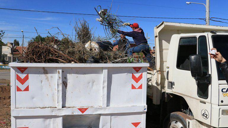 Los vecinos del Oeste tendrán un espacio para depositar los residuos voluminosos