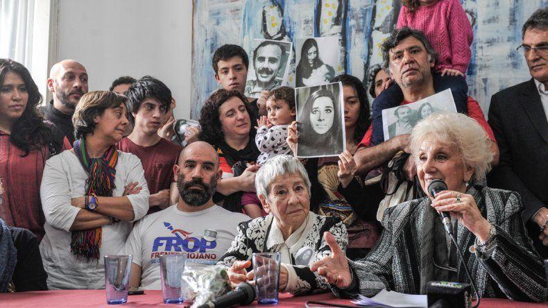 Abuelas presentó al nieto 121 en un ambiente de mucha emoción