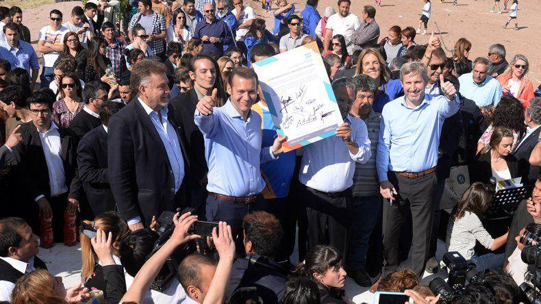 Frigerio: El déficit de infraestructura social es enorme