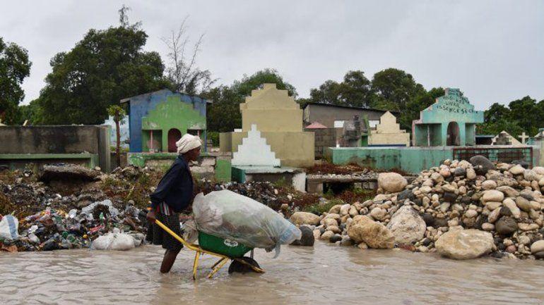 Al cierre de esta edición estaba llegando a Florida. Su paso por Haití y República Dominicana fue devastador.
