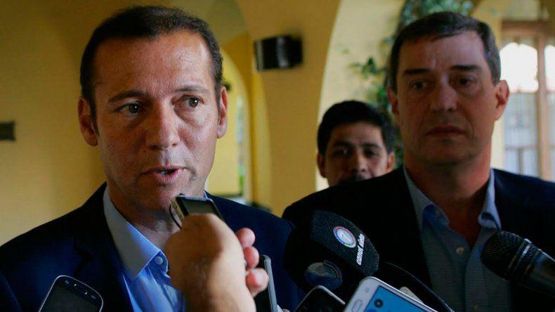 El gobernador Gutiérrez y el ministro Bruno trabajaron en el nuevo precio con los funcionarios nacionales.