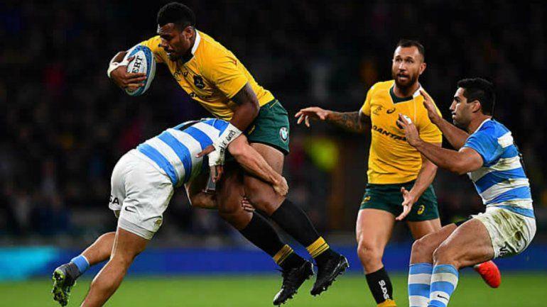 Los Pumas se despidieron con una derrota ante Australia