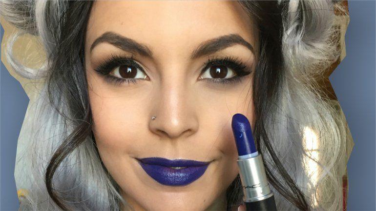 Los videos sobre los secretos del maquillaje que Azul Sad sube a la web alcanzan las 10 mil reproducciones en una semana.
