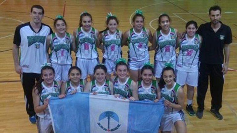 El seleccionado U14 venció a Mendoza e hizo podio.