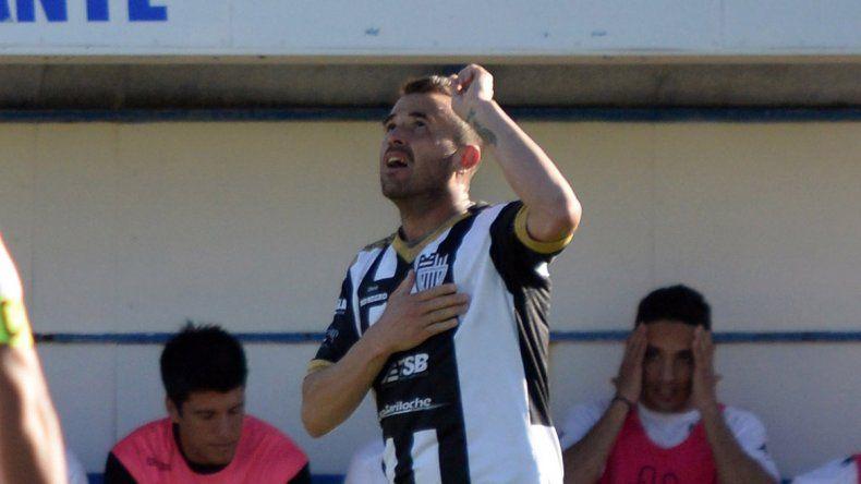 Eduardo Vilce. Autor del único gol del partido para el Albinegro