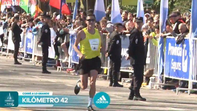Carriqueo terminó quinto en la Maratón de Buenos Aires
