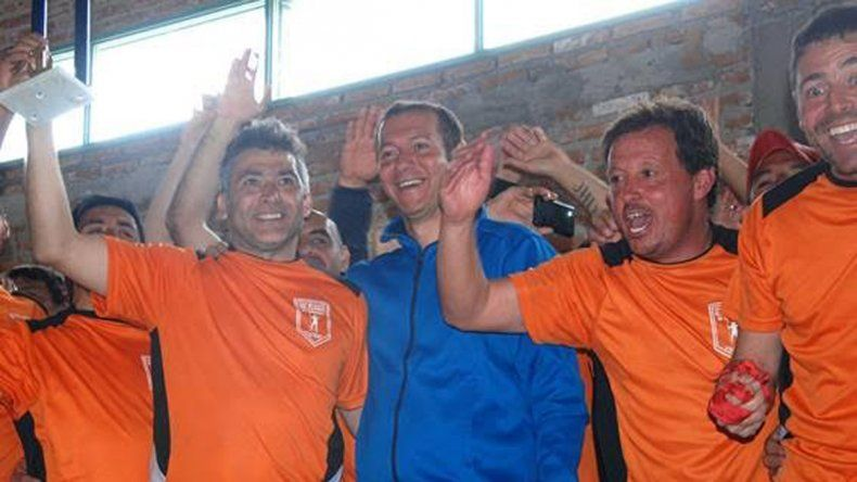 Gutiérrez cerró el 12° Campeonato de Fútbol para Veteranos