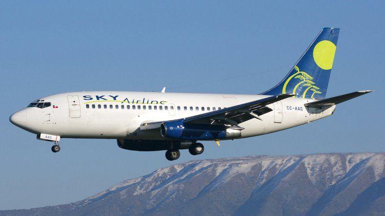 Sky Airline es una de las empresas que podría hacer Santiago-Neuquén.