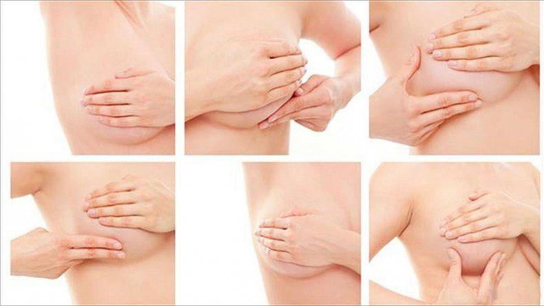 Las masas anormales en los senos son el principal indicador
