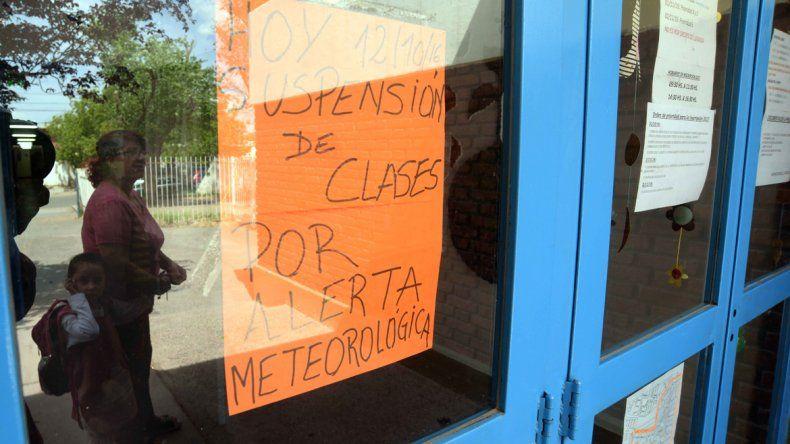 Los carteles en las escuelas