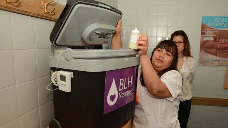 Los primeros en ser aliementados con leche humana pasteurizada son trillizos del norte neuquino