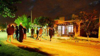 El aberrante hecho desató la ira de los vecinos del barrio Cuenca XV.
