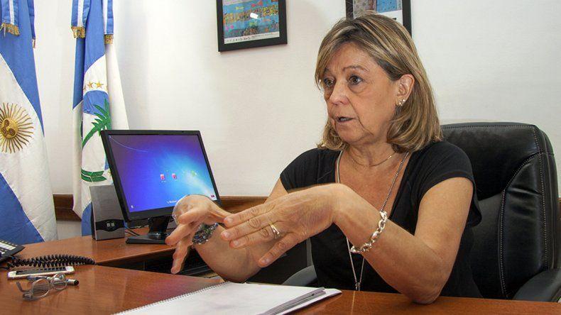 La ministra de Educación de Neuquén