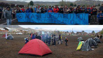 el intendente de junin prometio una reunion y logro que los ocupantes desactiven la toma