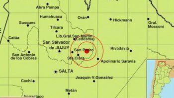 un leve sismo se sintio en el norte argentino
