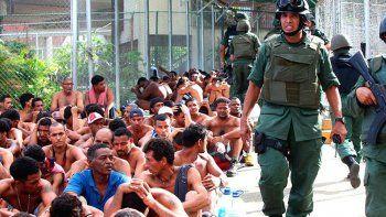 enfrentamientos en una carcel de brasil dejaron 25 muertos