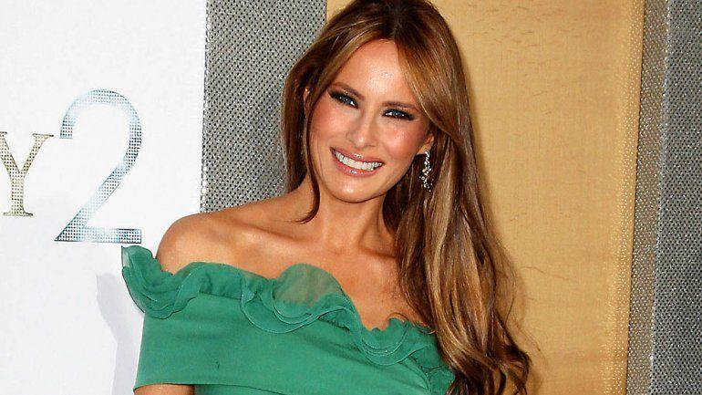 Melania Trump relativizó la actitud de su marido hacia las mujeres