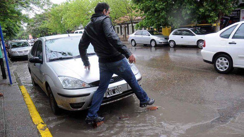 Las lluvias fuertes seguirán durante gran parte del día