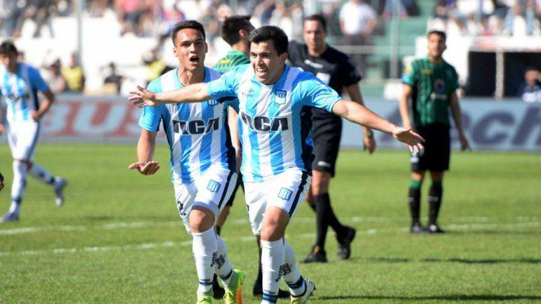 El zapalino es una de las figuras de Racing y por eso es seguido de cerca por el cuerpo técnico de la Selección.