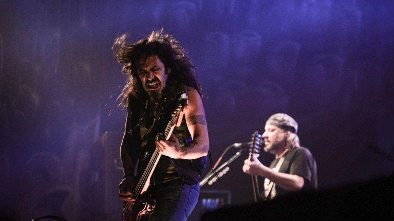 La Renga hizo explotar el Ruca Che a puro rock