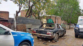 El allanamiento en toma La Familia a la casa de los Chavos. En el oeste secuestraron armas y droga fraccionada.