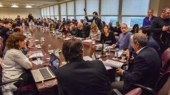 Horacio Quiroga expuso ayer en el marco de la Comisión de Medio Ambiente de la Legislatura provincial.