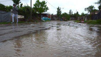 la municipalidad se prepara para recibir la tormenta de manana