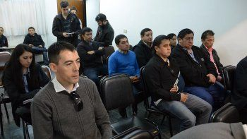 seis gremialistas de upcn fueron acusados por lesionar a un policia