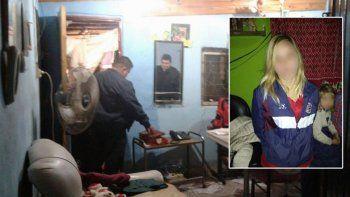 La joven fue detenida: al momento del crimen estaba de siete meses.