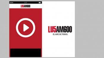 lu5 tiene su app: escucha la radio estes donde estes