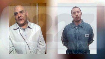 Las caras del terror. Ellos son Juan Pablo Offidani y Gabriel Farías.