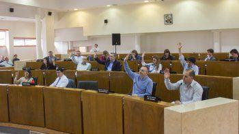 El oficialismo consiguió aprobar la declaración que le permitirá a Quiroga reclamar el dinero coparticipable.