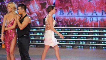 Las modelos volvieron a cruzarse el jueves en el Bailando.