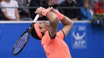del potro sigue imparable y se metio en la final de estocolmo