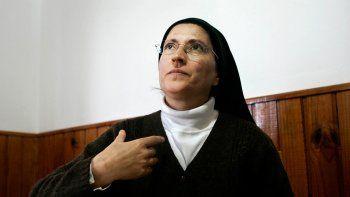 Mónica Astorga, del Monasterio de Carmelitas Descalzas de Centenario.